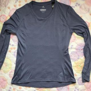 アディダス(adidas)のアディダスレディース長袖TシャツMサイズ(Tシャツ(長袖/七分))