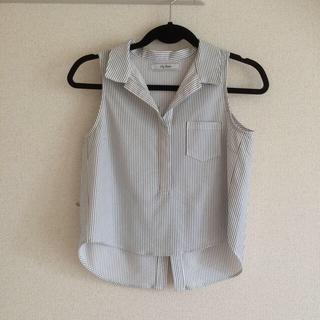 リリーブラウン(Lily Brown)のLilyBrown♡ストライプシャツ(シャツ)