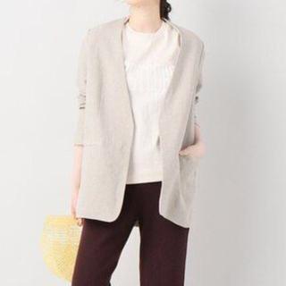プラージュ(Plage)の19SS Plage アサシャツジャケット2 定価30,240円 size36 (ノーカラージャケット)