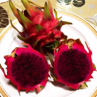 美容と健康に!スーパーフード!沖縄産ドラゴンフルーツ 1.5kg 以上(フルーツ)