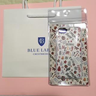 バーバリーブルーレーベル(BURBERRY BLUE LABEL)のブルーレーベルクレストブリッジ  アイフォンケース新品 (iPhoneケース)