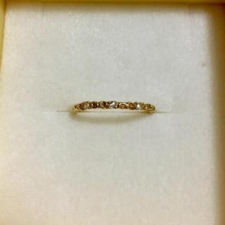 アガット(agete)のダイヤモンドリング ◇ベーネベーネ  K18  ローズカット  (リング(指輪))