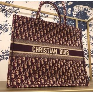ディオール(Dior)の【Dior】ディオールキャンバスブックトート(トートバッグ)