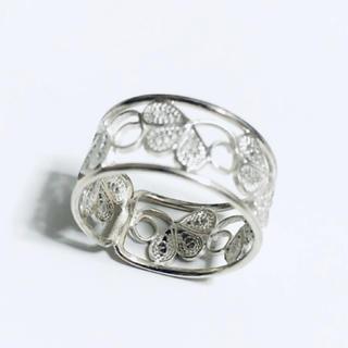シルバーの指輪(5〜6号)(リング(指輪))