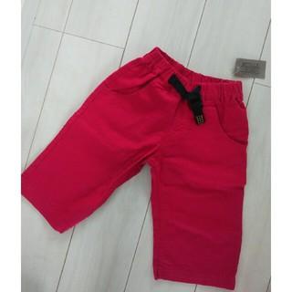 アディダス(adidas)のお取り置き購入予約。新品麻綿パンツサイズ130(パンツ/スパッツ)