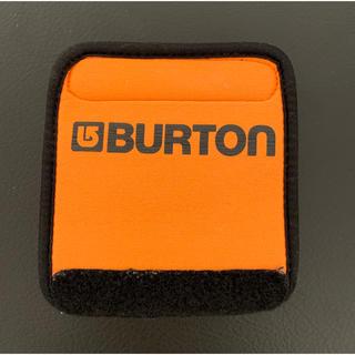 BURTON - バートン ハンドルカバー BURTON ノベルティ オレンジ 非売品 クッション