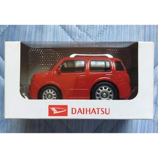 ダイハツ - ダイハツ ミラココア プルバックカー 非売品 ココア シャイニングレッド 赤