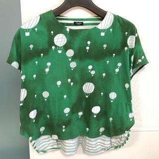 ミナペルホネン(mina perhonen)のmarble  sud バルーン Tシャツ(Tシャツ(半袖/袖なし))