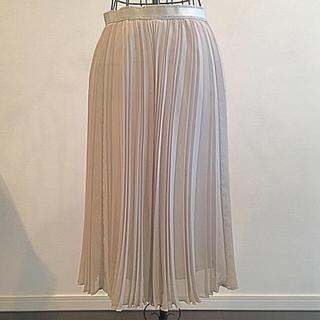 ナラカミーチェ(NARACAMICIE)の[ご予約済み]ナラカミーチェ 柔らか素材のプリーツスカート(難あり)(ひざ丈スカート)