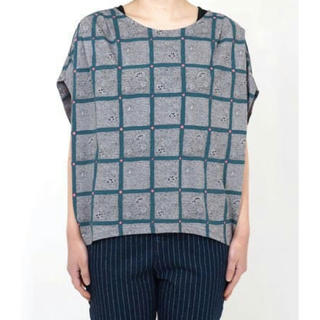 ミナペルホネン(mina perhonen)のmarble sud ヒラメ Tシャツ(Tシャツ(半袖/袖なし))