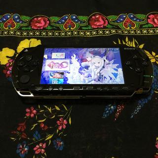 PlayStation Portable - SONY PSP1000 ブラック 本体 メモステ 4GB バッテリー Fate