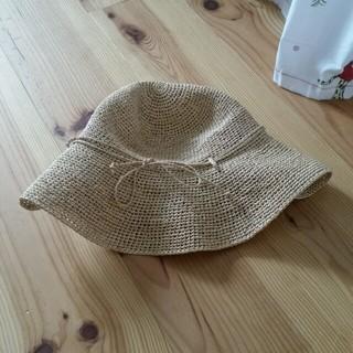 ムジルシリョウヒン(MUJI (無印良品))の無印 ナチュラル 麦ワラ帽子(麦わら帽子/ストローハット)