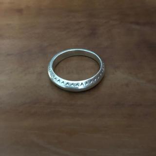 agete - agete 指輪 リング 16号 シルバー
