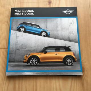 ビーエムダブリュー(BMW)のMINI  カタログ  + オプションカタログ  2015年モデル(カタログ/マニュアル)