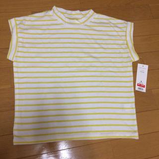 ジーユー(GU)の♡ハイネックボーダーT♡引越しSALE(Tシャツ(半袖/袖なし))