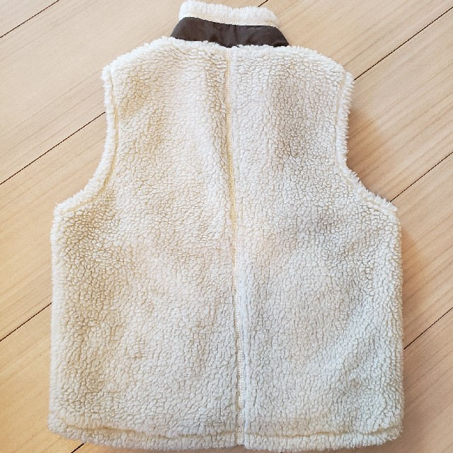 patagonia(パタゴニア)のパタゴニアフリースベストXS キッズ/ベビー/マタニティのキッズ服 男の子用(90cm~)(ジャケット/上着)の商品写真