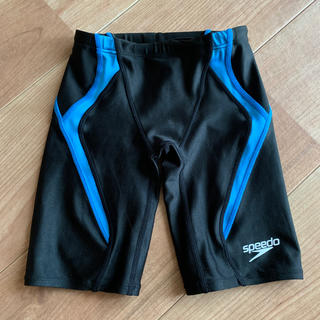 スピード(SPEEDO)のSpeedo スピード 競泳水着 水着 140 男の子 青 ブルー(水着)