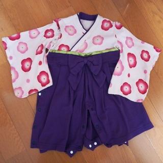 ベルメゾン(ベルメゾン)の袴風カバーオール サイズ70(和服/着物)