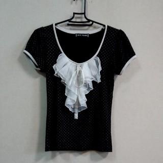 セシルマクビー(CECIL McBEE)のセシルマクビー ドットフリルTシャツ(Tシャツ(半袖/袖なし))