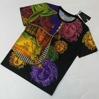 ヴェルサーチ(VERSACE)のVersace  ヴェルサーチ Tシャツ  メンズ エレガント (Tシャツ/カットソー(半袖/袖なし))