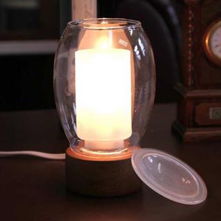 アロマ ガラス ライト(アロマポット/アロマランプ/芳香器)