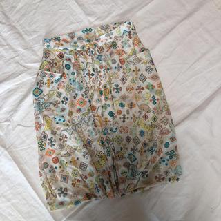 ツモリチサト(TSUMORI CHISATO)のツモリチサト バルーン コクーンスカート 2 美品(ひざ丈スカート)
