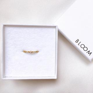 ブルーム(BLOOM)のBLOOM 新品未使用 k18 ダイヤモンド(リング(指輪))