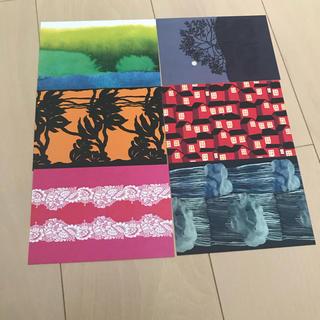 マリメッコ(marimekko)のマリメッコ ポストカード6枚セット(使用済み切手/官製はがき)