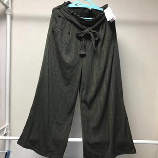 シマムラ(しまむら)のリブワイド パンツ 4L(その他)
