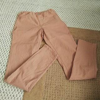 ジーユー(GU)のgu ジーユー 女の子 パンツ 150 サーモンピンク 送料込み(パンツ/スパッツ)