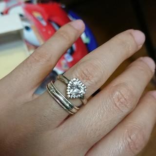 ザキッス(THE KISS)のハートリング(リング(指輪))