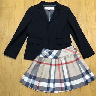 バーバリー(BURBERRY)のバーバリーチルドレン☆セット フォーマル サイズ120 (ドレス/フォーマル)