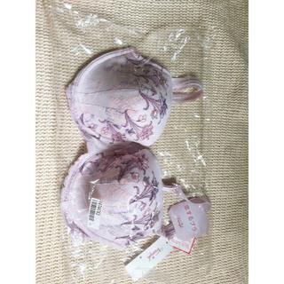 トリンプ(Triumph)のB95 トリンプ 恋するブラ 473 ピンク 花柄 アンダー95(ブラ)