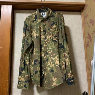 アディダス(adidas)のadidas アディダス 迷彩シャツ(Tシャツ/カットソー(七分/長袖))
