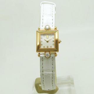 ハリーウィンストン(HARRY WINSTON)の正規品 ハリーウィンストン シグネチャー YG×ダイヤ(腕時計)