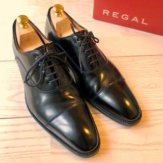 リーガル(REGAL)の美品 定価2.9万 リーガル ストレートチップ315R ビジネスシューズ(ドレス/ビジネス)