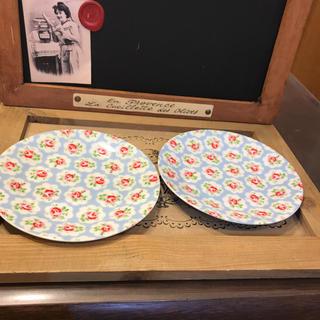 キャスキッドソン(Cath Kidston)のキャス・キッドソン プレート皿  2枚組  新品・未使用(食器)