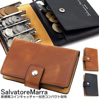 Salvatore Marra - (送料込み)サルバトーレマーラ 牛革コインケース メンズ レディース