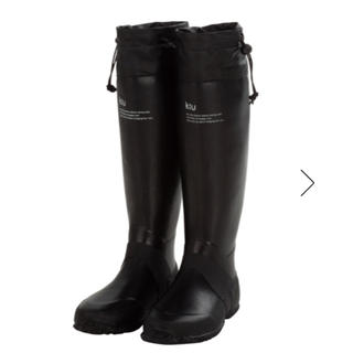 キウ(KiU)のKiu/キウ PACKABLE RAIN BOOTS ブラック M(レインブーツ/長靴)