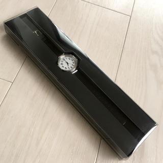 ムジルシリョウヒン(MUJI (無印良品))の【新品】無印良品 腕時計 公園の時計 黒 小(腕時計)