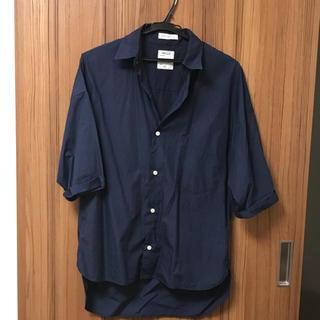 マディソンブルー(MADISONBLUE)のマディソンブルー 七分袖シャツ ネイビー 01(シャツ/ブラウス(長袖/七分))