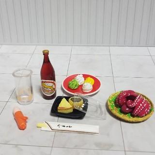 食品サンプル リーメント他「ビールとおつまみセット」(その他)