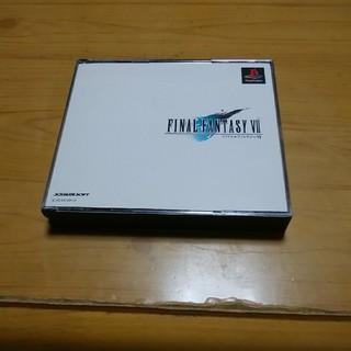 プレイステーション(PlayStation)のファイナルファンタジー7 プレイステーション用ソフト(携帯用ゲームソフト)