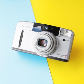 キヤノン(Canon)の完動品‼️Canon autoboy s オートボーイ コンパクトフィルムカメラ(フィルムカメラ)