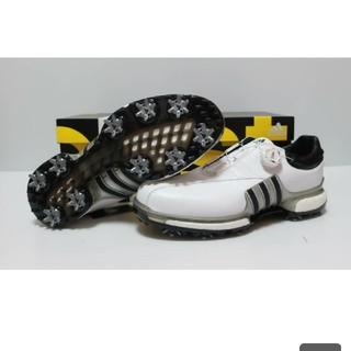 アディダス(adidas)のアディダス ゴルフシューズ Tour360EQT Boa 25.5cm 3E  (シューズ)