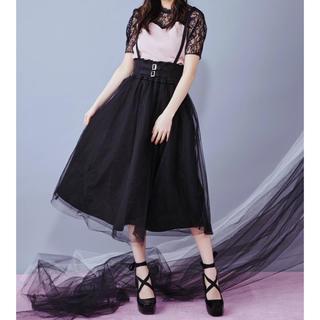 イートミー(EATME)の完売♡2wayチュールフレアスカート(ロングスカート)