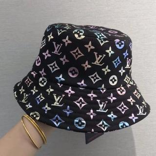 ルイヴィトン(LOUIS VUITTON)のLouis Vuittonルイ・ヴィトン バケットハット 帽子  男女兼用(キャップ)