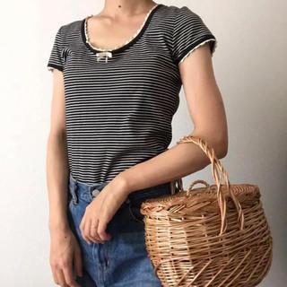 エディットフォールル(EDIT.FOR LULU)の古着 vintage ボーダーカットソー(カットソー(半袖/袖なし))