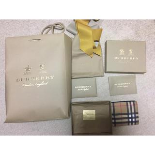 バーバリー(BURBERRY)のBurberry 財布 美品(折り財布)