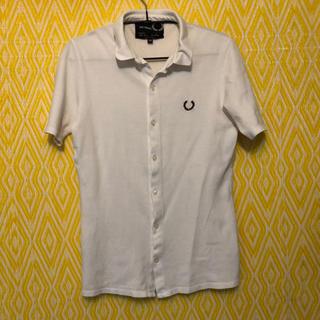 ラフシモンズ(RAF SIMONS)のフレッドペリー ラフシモンズ RAF SIMONS シャツ xs(Tシャツ/カットソー(半袖/袖なし))